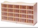20-Tray Cubby with Trays