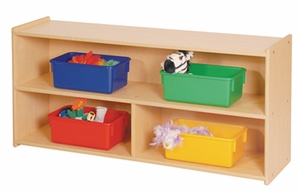 "22"" High Two Shelf Storage </br>"