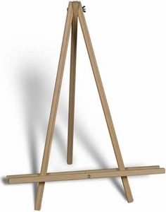 "24"" Table Top Natural Display Easel"