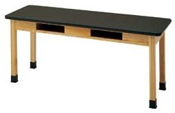 "24""x54""x60"" ChemArmor Laminate Compartment Table (C7202K30N)"