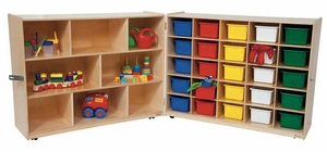 25 Tray and Shelf Folding Storage<br>