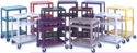"26""-42"" High Metal Utility Cart"