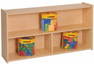 "27"" High Three Compartment Storage <br>"