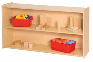"27"" High Two Shelf Storage <br>"