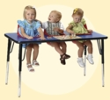 3, 2 & 1 Seat Toddler Table Assembly Instructions Video