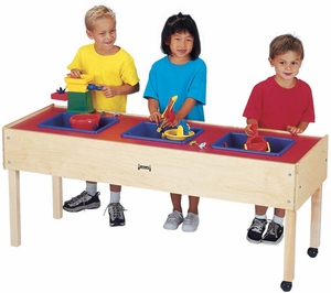 3 Tub Sand-n-Water Table - Toddler Height