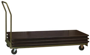 30in. Rectangular Table Dolly - 18+ Capacty