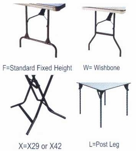"48"" Round ABS Plastic Folding Table"