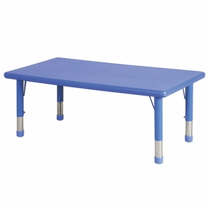 48in Rectangle Resin Table