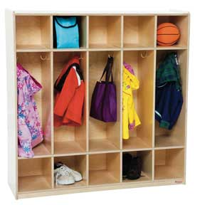 5-Section Locker<br>
