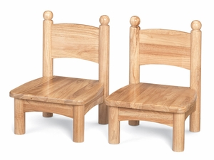 "5"" Wood Laddderback Chairs (Pair)<br>"