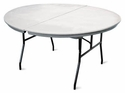 6' Round Commercialite Table