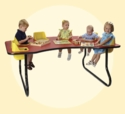 6 Seat Toddler Table<br>Price Includes Shipping!