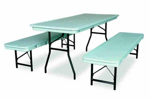 """6' x 18"""" Commercialite Table / Bench"""