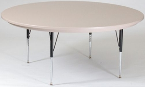 "60"" Round Blow Molded Activity Table"