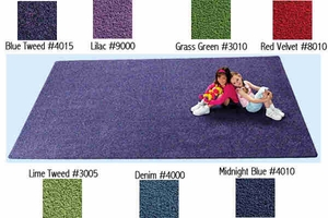 """8'4"""" x 12' KIDply Soft Solids Collection"""