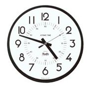 """8"""" Electric S-Style Accutrex Clock"""