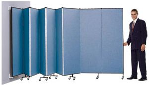 8' High Wall Mount Room Divider