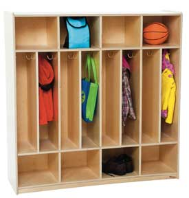 8-Section Space-Saver Locker<br>