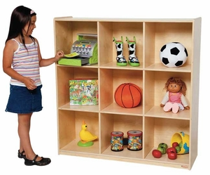 9 Cubby Deep Storage<br>