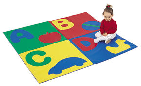 4 Feet ABC Crawley Mat