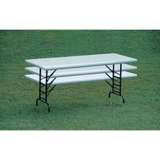 "Adjustable Height Folding Table 30"" x 96""<br>"
