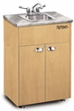 Adult Portable Hand-Washing Station Silver Series<br>