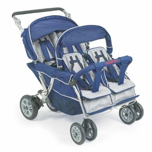 Angeles 4-Seat SureStop® Stroller