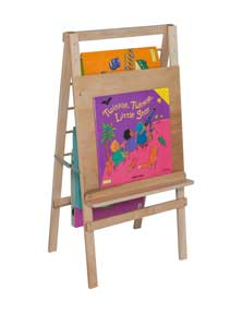 Big Book Easel and Hanging Storage<br>