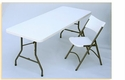 Blow Molded Folding Tables Fixed Height