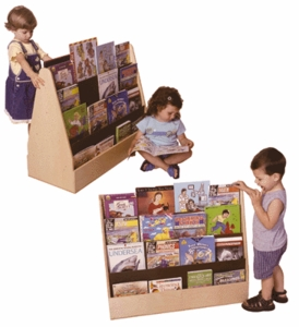 Book displays and Storage