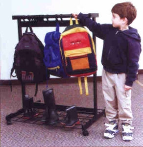 Cafeteria / Classroom Pack Rack