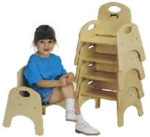 "Chairries 13"" Stackable Chairs"