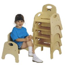 """Chairries 7"""" Stackable Chairs"""