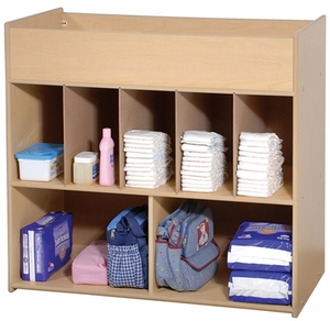 Changing Table with Pad and Strap <br>