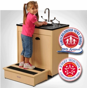 Child Height with Integrated ABS Top and Basin <br>