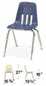 Classic Series Stack Chair Model 9000-16