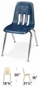 Classic Series Stack Chair Model 9000-18