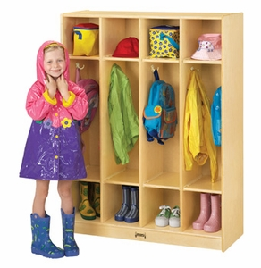 Coat Locker - 4 Section