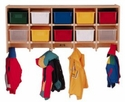 Coat Locker-Large Wall Mount Without Trays