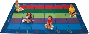 "Colorful Places Seating Rug 7'6"" x 12'"