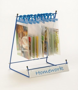 Compact Bag Stand with 10 hanging bags <br>