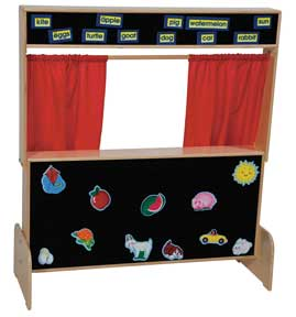 Deluxe Puppet Theater w/ Flannel<br>