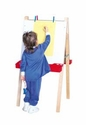 Double Adjustable Easel w/Markerboard<br>