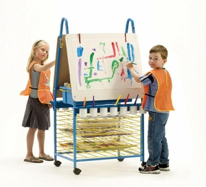 Double Sided Art Easel <br>