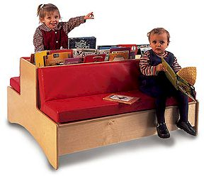 Double-Sided Reading Couch