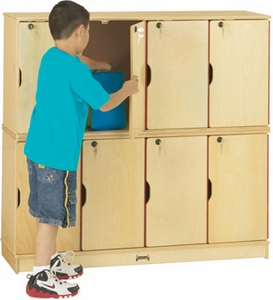 Double Stack Lockable Locker<br>