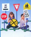 Drivetime Signs Set of 6