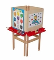 Easel 4 Student Workstation w/Plywood<br>