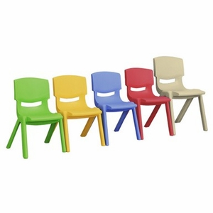 """12"""" Resin Chair (6 Pack)"""